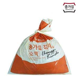 [종가집][무료배송] 종가집 포기김치 10kg (소백)