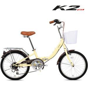 K2BIKE 미니벨로 접이식자전거 파블로20형 7단