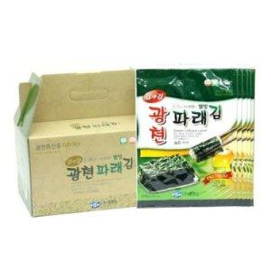 (당출) 김앤김 광천 파래전장조미김 선물세트 25g 5봉