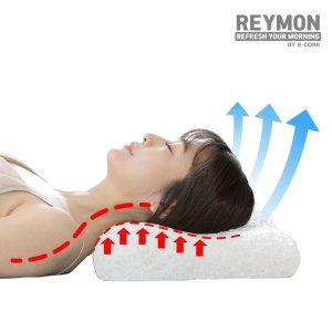 레이몬 숨쉬는 기능성 에어베개/ 목이편안한신소재