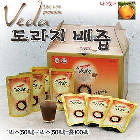 나주 배다 도라지배즙 125mlx100포/건강식품선물세트