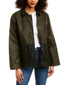 바버 로빈 왁스 남녀공용 자켓 Barbour Wax Jacket