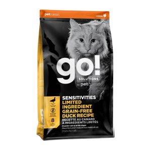 [유통기한 2021-01-04] go! 내추럴 고양이 센시티브 샤인 LID 오리 7.2kg