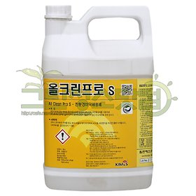 올크린프로S 3.75L 친환경바닥청소세제 바닥청소용품