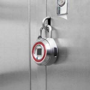 바이오키 XL PLUS 블루투스자물쇠 지문인식 비밀번호