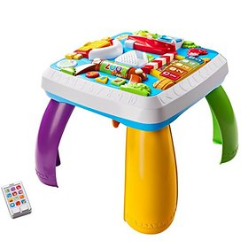 Fisher-Price Laugh aenreon Running Around The Town Table