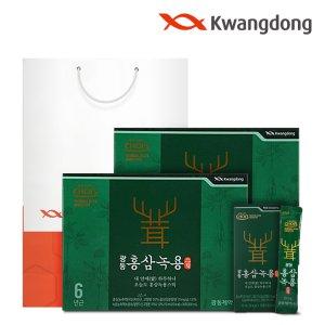 광동 홍삼녹용스틱 (10ml x 30포) - 2박스