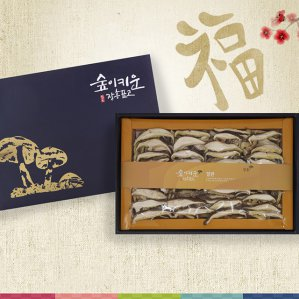 장흥표고버섯 선물세트 표고절편 2호