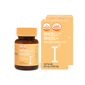 쁘띠앤 아이언C+(4개월/120정) 철분제 비타민C 영양제