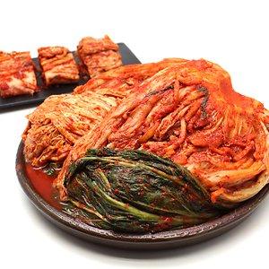 더자연 물맑은 배추 포기 김치 초가집 김치 10kg