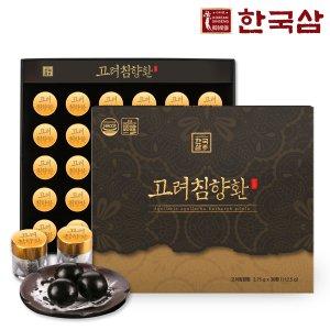한국삼 고려 침향환 3.75g x 30환 1박스 /쇼핑백/추석