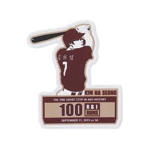 [티켓MD샵][키움히어로즈] 김하성 100타점 100득점 기념 패치