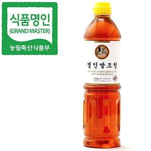 [농할쿠폰20%] 명인 쌀조청 1.3kg/꿀 조청 물엿/국가지정명인 강봉석