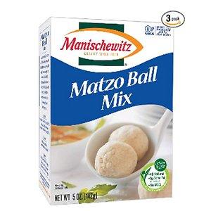 Unleavened bread mix Ball Pack 142gx3 Manischewitz Matzo Ball Mix