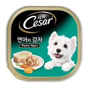 시저 강아지캔 연어와 감자 100g