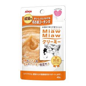 먀우먀우 크리미파우치 살살녹는 나고야산 닭맛 (MMC-9) 40g