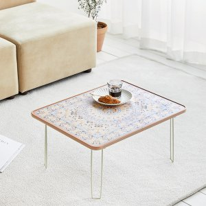[룸앤홈] 페르시안 접이식 테이블 원터치테이블