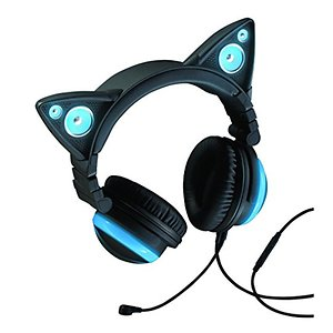 Cat ear Wired Headphones Brookstone Wired Cat Ear