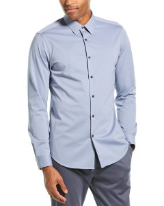 Theory Sylvain Nd.Structure Woven Shirt