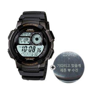 (무료각인) 카시오 전자시계 군인시계 AE-1000W-1A