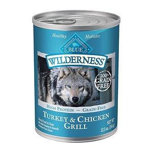 [유통기한 2020-10-10] 블루버팔로 윌더니스 칠면조&치킨 354g 강아지주식캔