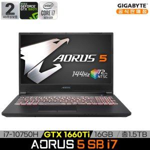 기가바이트 AORUS 5 SB i7 게이밍노트북