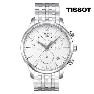 티쏘 트래디션 쿼츠 T063.617.11.037.00 42mm 메탈