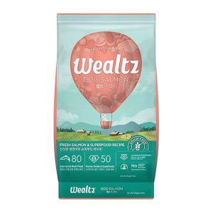 웰츠 독 연어 2.1kg