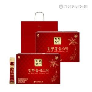개성상인 침향홍삼스틱 10ml 30포+30포 /개성인삼농협