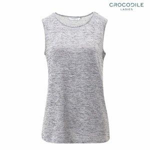 (하프클럽)[크로커다일레이디] 핫피스 장식 민소매 티셔츠 CL9MTS905_P074101658