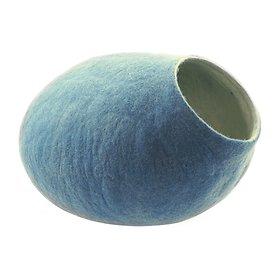 키비키스 따뜻한 울하우스 스카이 블루