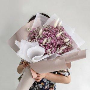 [드라이플라워] 시네신스 대형 꽃다발
