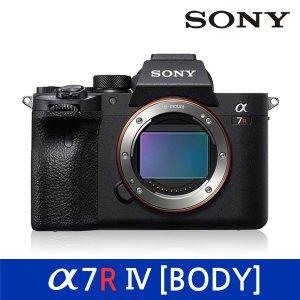 소니 정품 풀프레임 미러리스 카메라 A7R IV / A7RM4