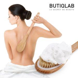 뷰티끄랩 대나무 바디브러쉬 샤워브러쉬 목욕솔