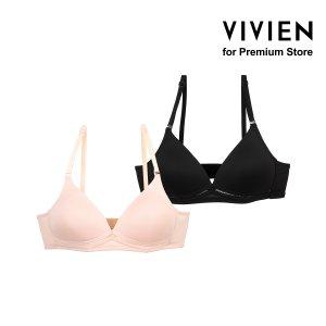 VIVIEN FOR PREMIUM STORE 여자속옷 2매입 BR8901K