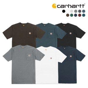 (하프클럽)[Carhartt] 칼하트 반팔 티셔츠 K87 포켓 반팔티_P059666325