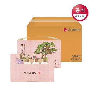 [추석특별] LG생활건강 명절선물세트 까치와 호랑이 S 7개 1박스