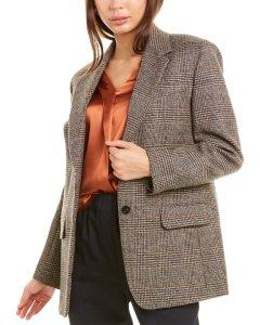 Weekend Max Mara Georgia Wool-Blend Jacket