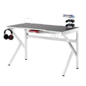 에이픽스 게이밍 컴퓨터 책상 GD001 1200 화이트