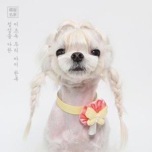 나빌레라 목걸이 (노랑)