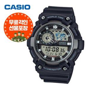 (무료각인) 카시오 전자시계 군인시계 AEQ-200W-1A