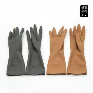 ★무배특가★ [생활공작소] 고무장갑 6입
