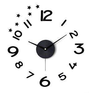 DIY  무소음벽시계 인테리어 포인트벽시계 시크블랙