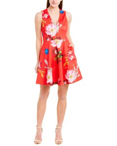 Ted Baker Printed A-Line Dress