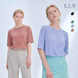 [최초가79,900]지오송지오 20Summer 린넨블랜드 티셔츠 여성5종