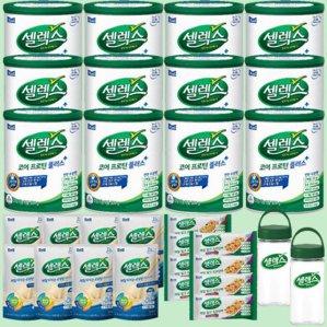 매일유업 코어프로틴플러스 12캔+셀렉스 프로틴 키트 2박스+셀렉스 보틀 2개
