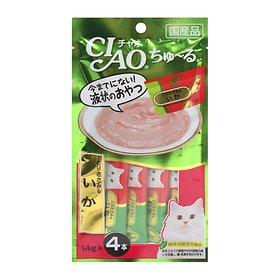 이나바 챠오 츄르 닭가슴살&오징어 (SC-79) 14gX4개입