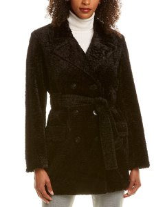 Theory Embossed Peacoat