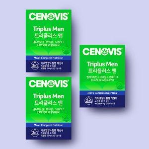 세노비스 남성 트리플러스맨 멀티비타민미네랄x 3개