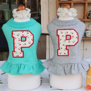 색감이 예쁜 xs강아지옷2xl 봄여름옷 프릴 크롭티